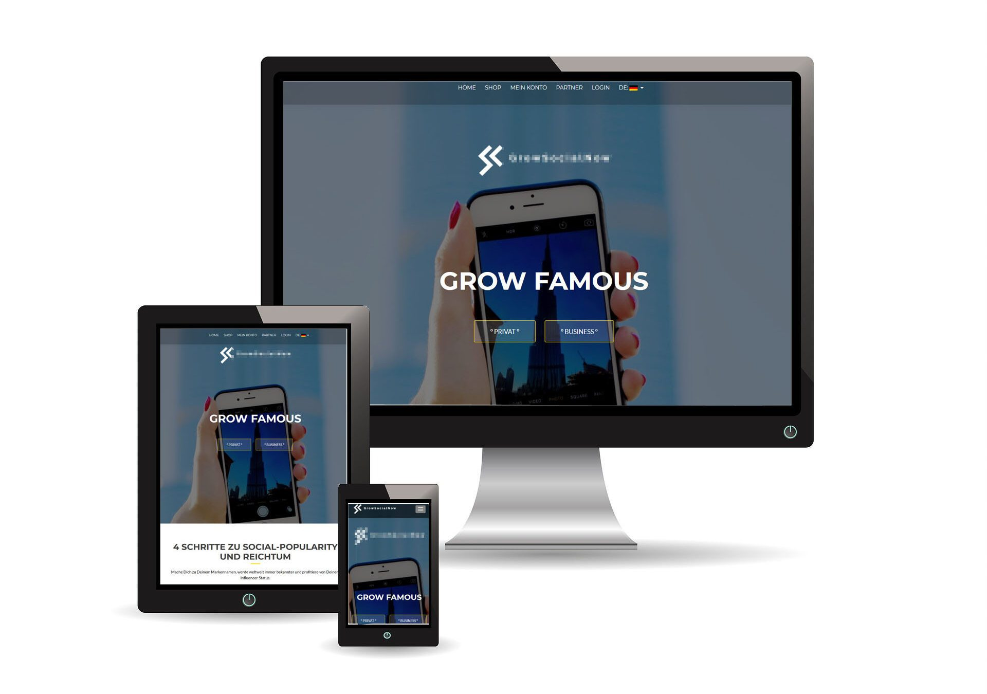 best website marketing sample