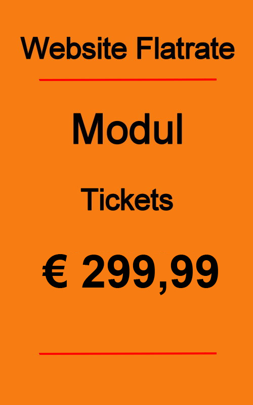 Dives Webseite Modul Tickets 2020